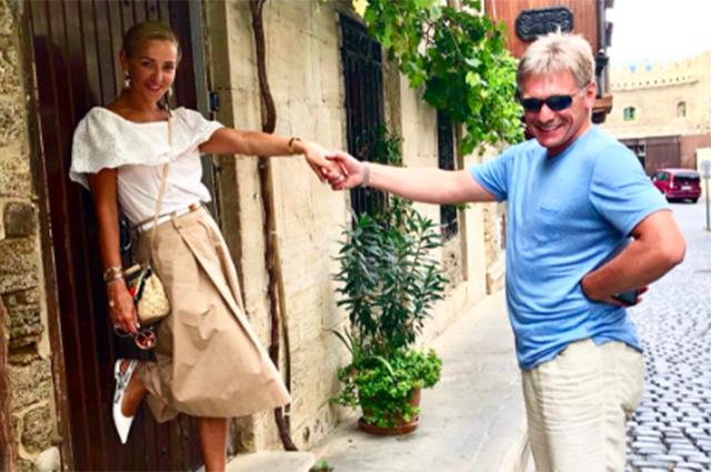 Татьяна Навка и Дмитрий Песков отдыхают в Баку на фестивале «Жара»