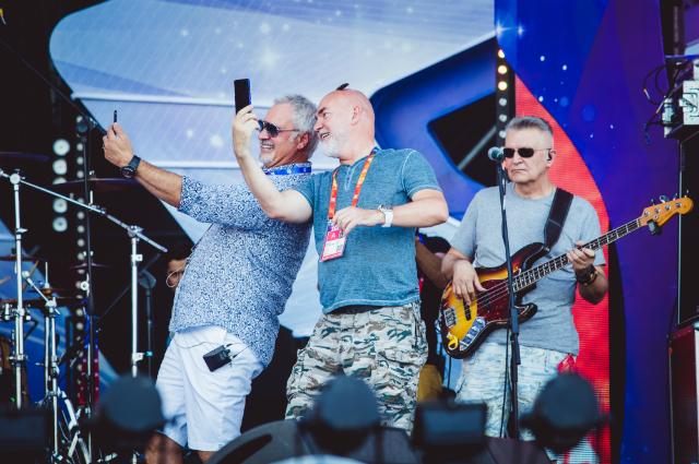Валерий Меладзе и Сергей Кожевников