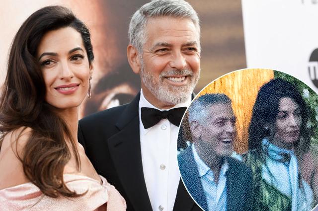 Джордж и Амаль Клуни впервые появились на публике после ДТП с участием актера