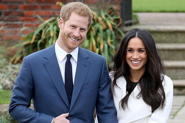 Обнародована совместная монограмма принца Гарри и Меган Маркл