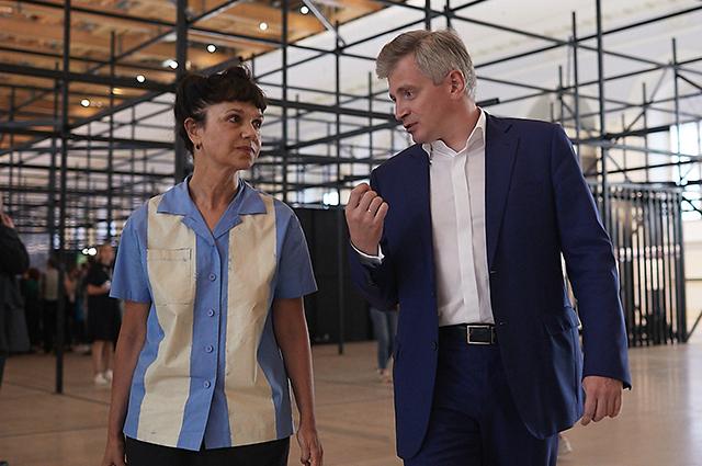 Марина Лошак и Александр Кибовский