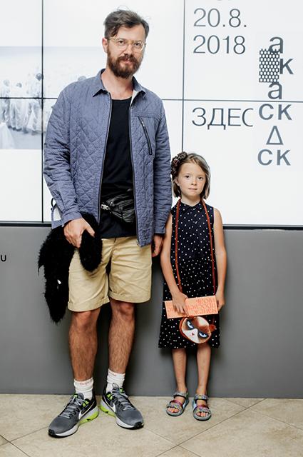 Олег Глушков с дочерью