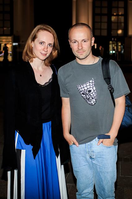 Екатерина Кибовская и Гоша Рубчинский