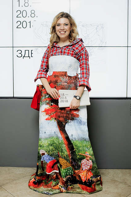 Елена Скоморохина