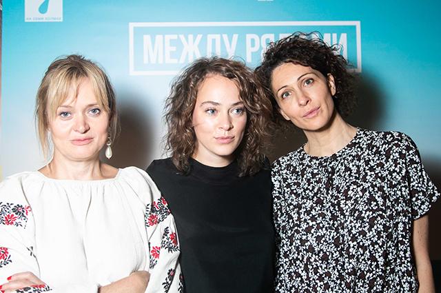 Анна Михалкова, Ксения Раппопорт и другие звезды на премьере фильма «Между рядами»