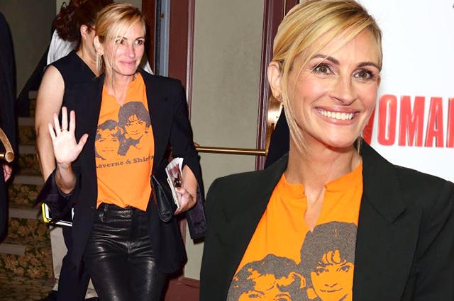 Джулия Робертс посетила бродвейский мюзикл по мотивам фильма «Красотка»