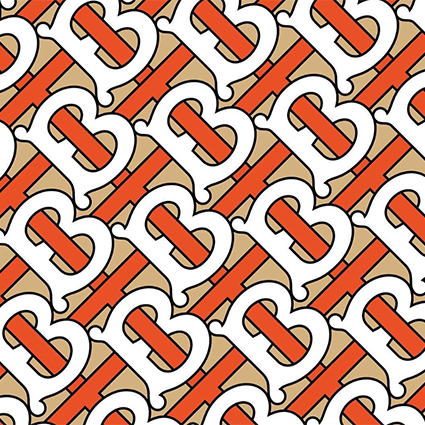 Новый логотип Burberry