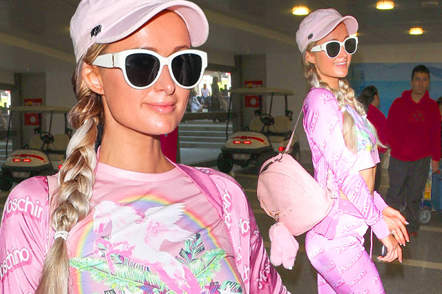 Привет из нулевых: Пэрис Хилтон продолжает одеваться в розовое с ног до головы