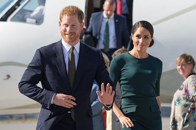 Стало известно, что принц Гарри и Меган Маркл летают эконом-классом