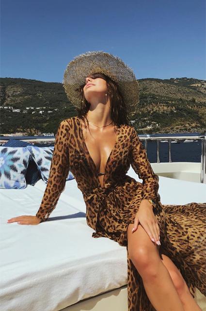 22 платья с леопардовым принтом, как у девушки Леонардо ДиКаприо