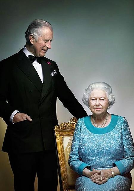Принц Чарльз и королева Елизавета II