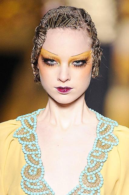 Показ Christian Dior Ready-to-Wear осень/зима 2009