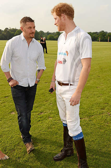 Том Харди и принц Гарри