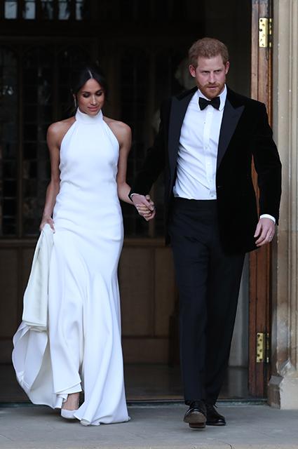 Стелла Маккартни рассказала о работе над свадебным платьем для Меган Маркл