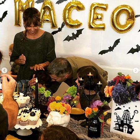 Холли Берри и Оливье Мартинес воссоединились и устроили пятилетнему сыну «жуткий» день рождения