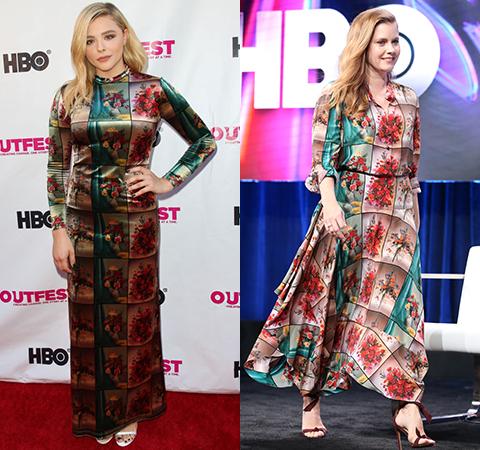Модная битва: Хлоя Грейс Морец против Эми Адамс