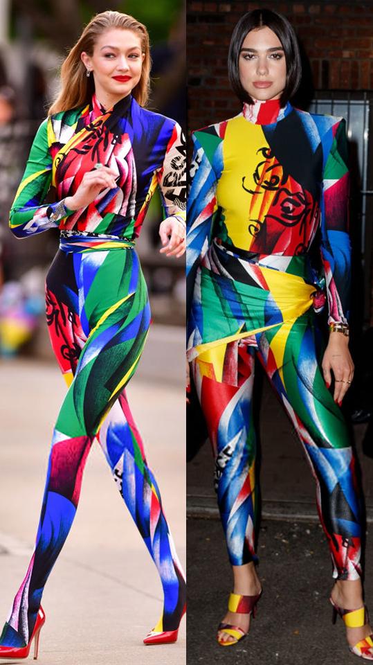 Модная битва: Дуа Липа против Джиджи Хадид