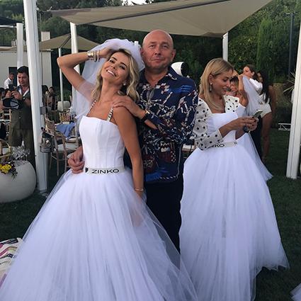 Ах, эта свадьба! Ксения Собчак, Оксана Лаврентьева, Сергей Шнуров и другие звезды на вечеринке в Сен-Тропе