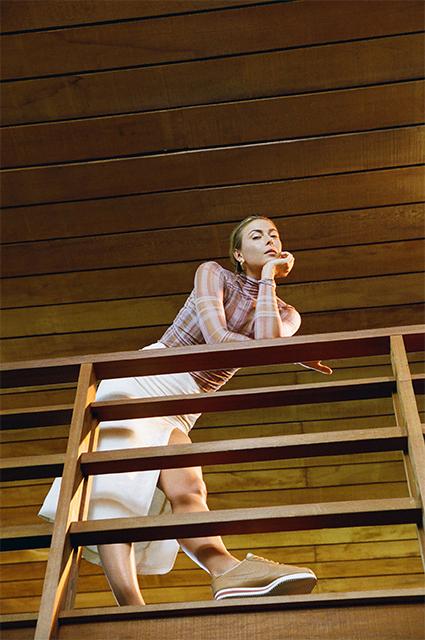 Элегантность и сила характера: Мария Шарапова представила новую коллаборацию с Nike