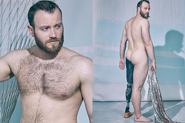 Параатлет Дмитрий Игнатов снялся в эротической фотосессии