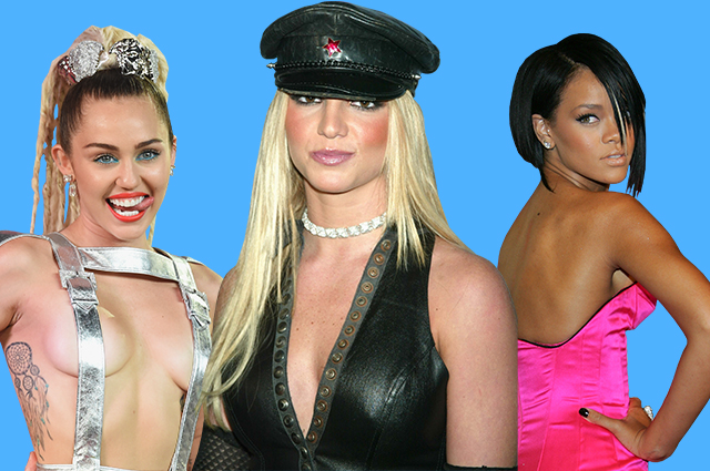 Гламур, эпатаж, мясо: Бритни Спирс, Леди Гага и другие звезды на MTV Video Music Awards за последние 20 лет