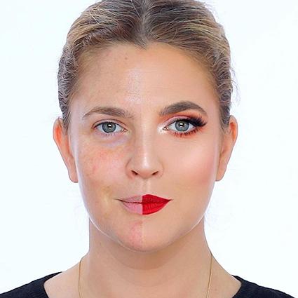 Отмечаем День без макияжа вместе с Дрю Бэрримор: как актриса научила нас быть проще