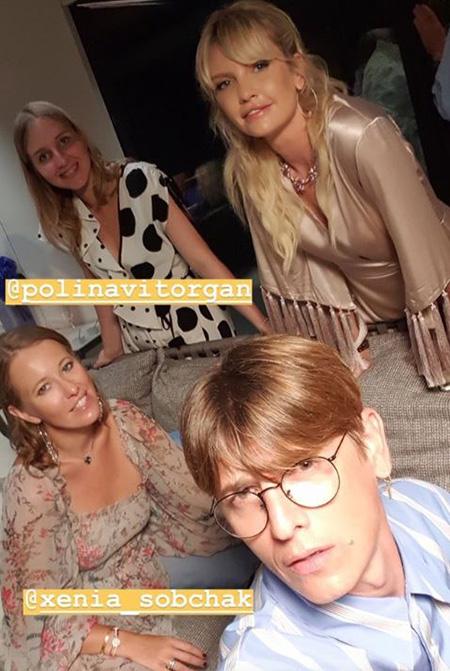 Ксения Собчак, Максим Виторган с дочерью и другие звезды познакомились с Джиной Лоллобриджидой на яхте в Италии