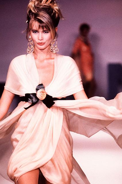 Chanel Haute Couture сезона весна-лето 1990 года