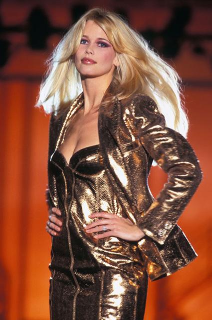 Versace Haute Couture сезона осень/зима-1994/1995