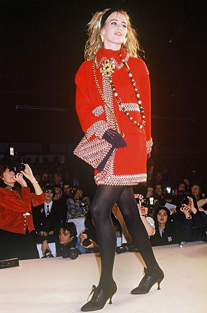 Chanel прет-а-порте сезона осень/зима-1990/1991