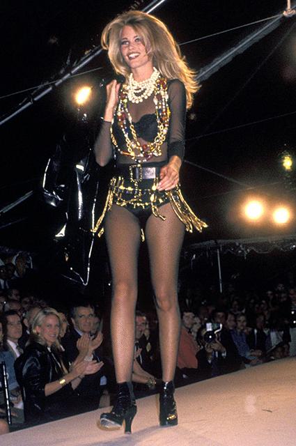 Chanel, благотворительный показ, 1991 год