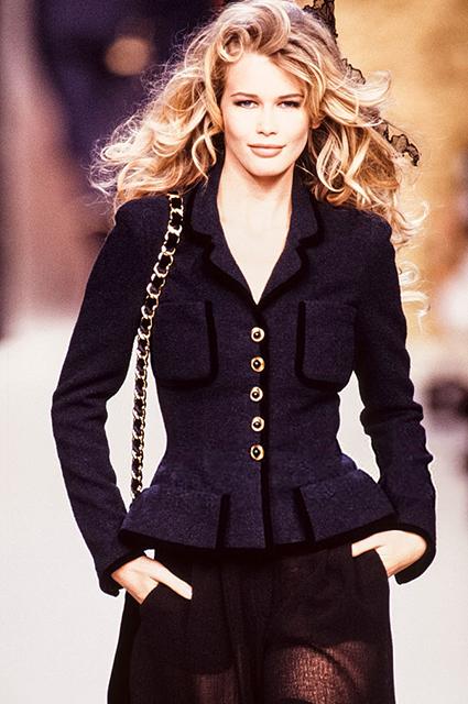 Chanel Haute Couture сезона осень/зима-1992/1993