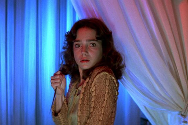 "Джессика Харпер. Кадр из фильма ""Суспирия"""