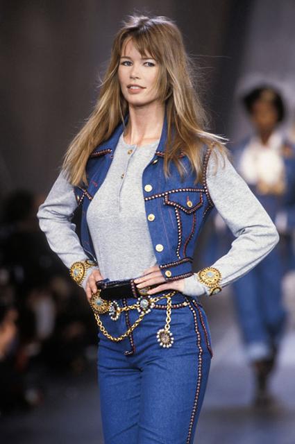 Chanel прет-а-порте сезона осень/зима-1993/1994