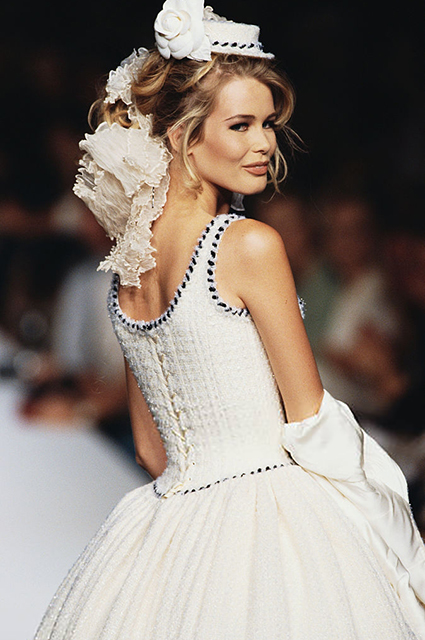 Chanel Haute Couture сезона осень/зима-1991/1992