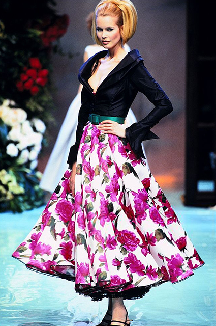 Dior Haute Couture сезона весна/лето-1996