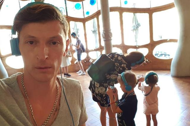 Ляйсан Утяшева и Павел Воля поделились редкими фотографиями своих детей