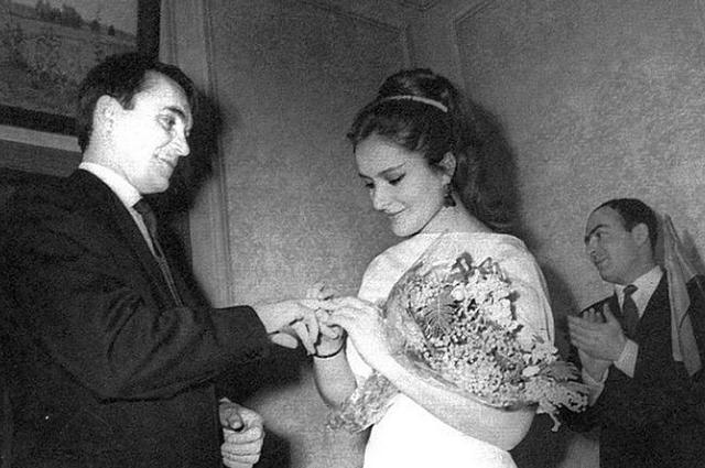 Элем Климов и Лариса Шепитько