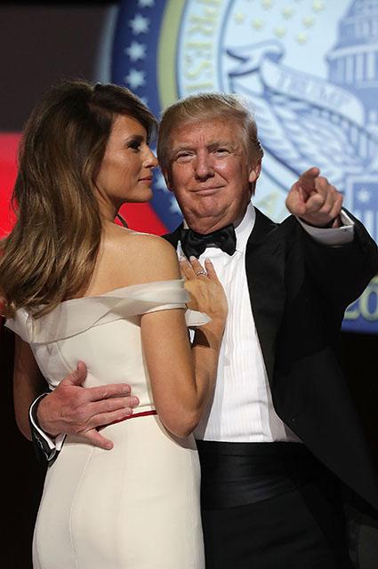 Стилист Мелании Трамп рассказал о работе с первой леди