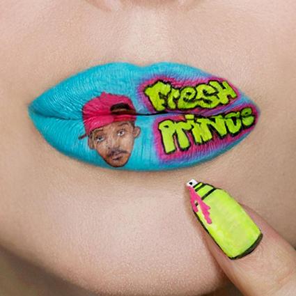 Lip-art как произведение искусства: смотрим и восхищаемся