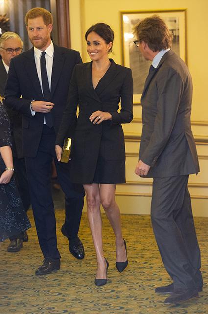 Меган Маркл отдала дань уважения принцессе Диане на театральном вечере
