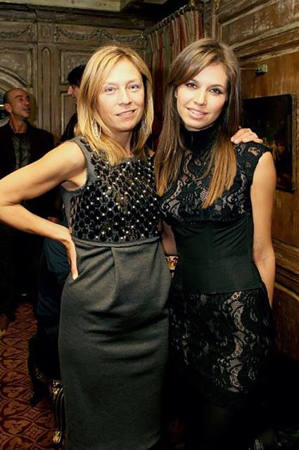 Алена Долецкая и Даша Жукова