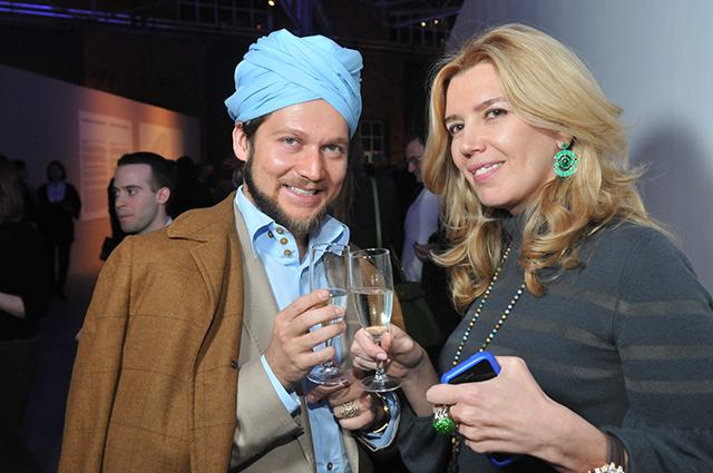 Петр Аксенов и Марианна Сардарова
