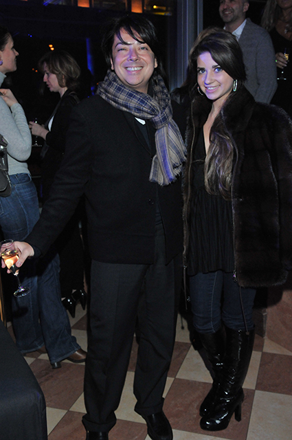 Валентин Юдашкин с дочерью Галиной