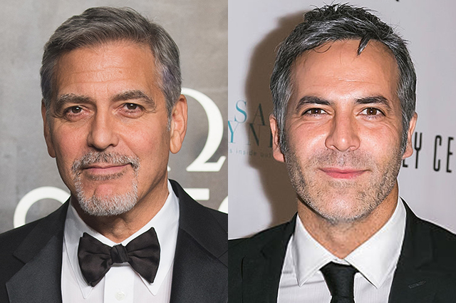 Джордж Клуни и Гильермо Запата