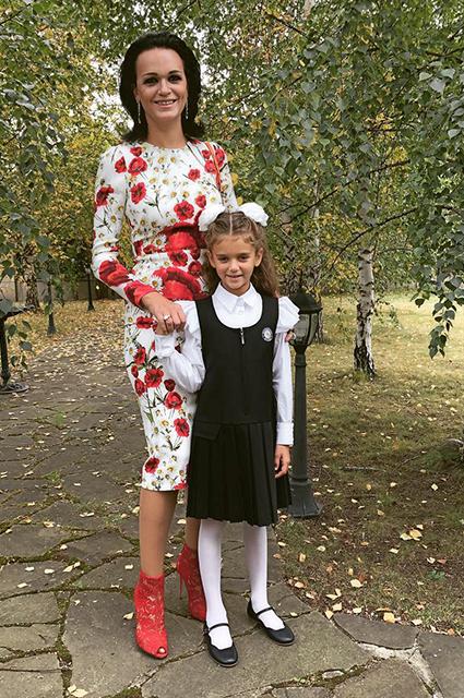 Слава с дочерью Антониной