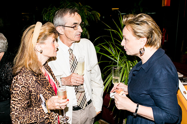 Оливье Гийом с супругой (Французский Институт в России), Тереза Мавика
