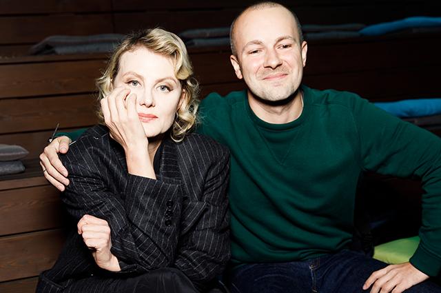 Рената Литвинова и Гоша Рубчинский
