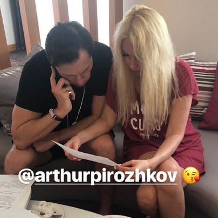 Александр Ревва и Лера Кудрявцева