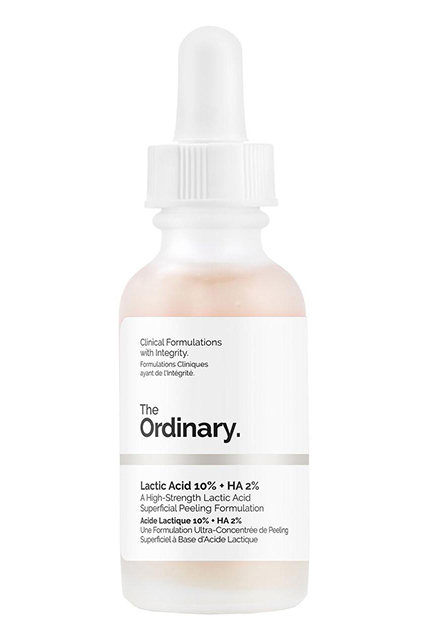 Молочная кислота 10% + HA-кислота, The Ordinary